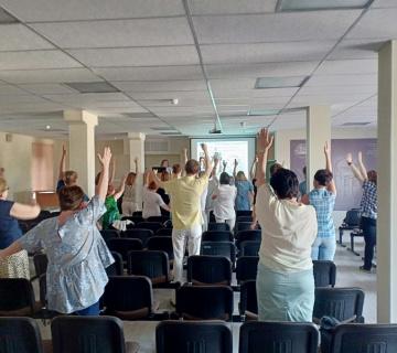 Как прошел интерактивный лекторий «Путь к себе» 6 июня
